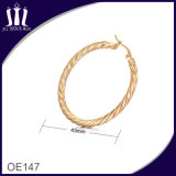 Neue Form-Seil-Form-Goldband-Ohrringe