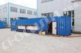 18t Containerized Maker van het Ijs van het Blok