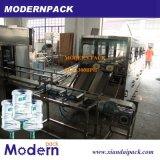 5 galones del agua potable de maquinaria de relleno en botella de la producción