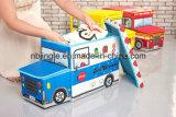 De mooie Kruk van de Opslag van de Reeks van de Vorm van de Auto van Jonge geitjes voor Speelgoed Gsa7008