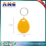 125kHz gele Digitale RFID Keyfob met Hoge Frequentie van de Veiligheid de ultra