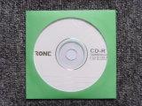 100g de lege CD Koker van het dvd- Document