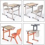 Escritorio ajustable, escritorio de la sala de clase de la escuela y silla