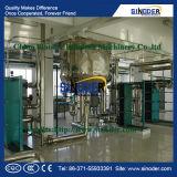 De ruwe Installatie van de Raffinaderij van de Olie van de Zemelen van de Rijst van de Sojaolie