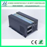 3kw del inversor híbrido de la energía solar de la red con el regulador de MPPT