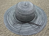 Chapéu de papel personalizado de Sun da cubeta da palha das senhoras para o verão
