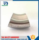 Le miroir a poli l'acier inoxydable courbure de soudure de 45 degrés