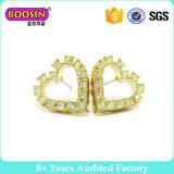 女性のための方法宝石類の金の美しい設計されていたイヤリング