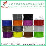 Diverse Kleuren 3mm 1.75mm Plastic 3D Materialen van de Gloeidraden van de Printer PLA