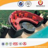 Sofà di vimini del rattan che pranza la mobilia esterna di svago (UL-3027)