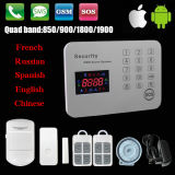 Factory Offer! ! Latest Burglar Alarm System Wireless GMS Home Alarm System