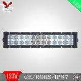 barra chiara di 6D 120W LED per la jeep (IP68 4X4 fuori dal doppio Osram della strada)