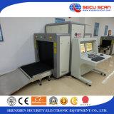 1000 * 800mm equipo de la exploración de la radiografía para la carga, inspección del bagaje