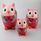 La Banca Piggy di ceramica personalizzata regalo di figura del gufo dei bambini della Cina