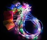 7개의 색깔 LED는 단화 가벼운 빛난 모자 야구 모자를 불이 켜진다