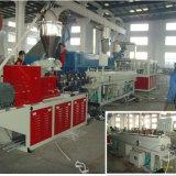 Cadena de producción tamaño pequeño del tubo doble del PVC