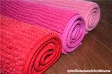 Manta/estera de la alfombra del área del baño del Chenille de Microfiber del poliester