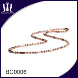 La bille perlée colorée par 2.0mm de qualité enchaîne le collier