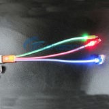 iPhone 4G、5g、5s、5c、SamgsungのためのBright極度のLight LED Light USB Charger Cable
