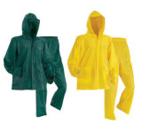 Usura incappucciata adulta promozionale della pioggia del PVC