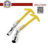 Plasicのすべり止めのハンドル、16mmが付いている自動車修理のツール