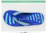 Lastest nackte Strand-Sandelholz-Männer blauer PET Flipflop