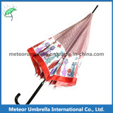 Designer bonito Animal Pringting Rain Straight Umbrellas para Sale