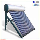 Chauffe-eau solaire pressurisé de tube électronique Integrated