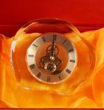 Reloj de cristal de alta calidad Reloj de mesa como regalos de empresa (KS06050)
