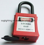 Colorful Safety Steel Dustproof Padlock with Different Size PA Body