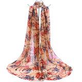 L'écharpe imprimée par écharpe moyenne des femmes molles d'usage longue