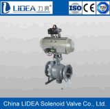 La Cina Flange Type - 2 Way Ball Valve per Fluid Control