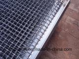 ホック(XA-CWM09)が付いている網によってひだを付けられる金網をふるう鉱山
