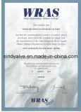 Manuelle Nicht-Steigende Metall Sitzabsperrschieber ANSI125/150