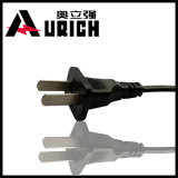 Plugue elétrico redondo de 2 pinos com CCC e cabo de potência da C.A. de 10A 250V