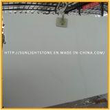 磨かれた中国純粋で白い/Crystalの白い大理石の床タイル