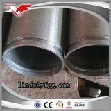 Caldo tuffato galvanizzato intorno alle estremità della scanalatura di lavorazione della conduttura del tubo del acciaio al carbonio (MARCA di YOUFA)
