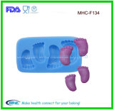 Moulage de silicones de savon