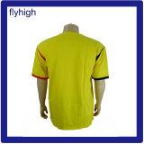 Tshirt relativo à promoção feito sob encomenda dos homens da forma por atacado