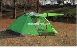 De dubbele Tent van Pool van het Aluminium van de Laag, Waterdichte Groene het Kamperen Tent