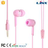 Alta qualità Earbuds basso eccellente alla moda per il iPhone Earbuds (LX-E012)