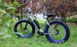 Bici elettrica della METÀ DI di azionamento di 7 velocità del motore montagna grassa della gomma