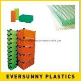 Горячий продавая покрашенный лист пластмасс дешевого полого листа PP рифлёный