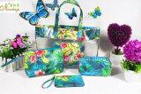セットされる浜の夏の方法ゆとりPVC浜の女性ハンドバッグ袋