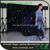 LEDの星DJはカーテンをグループ化する