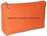 Il sacchetto cosmetico promozionale della chiusura lampo impermeabile di corsa del PVC libera il reticolo