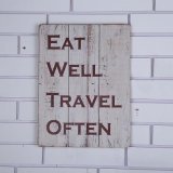 Shabby Chic Classic Kitchen Wooden Sign Accueil Accessoires avec Sayings