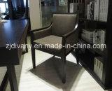 Самомоднейшее деревянное кожаный кресло ткани (C-51)