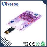 Movimentação fina super relativa à promoção feita sob encomenda do flash do USB do cartão de crédito do preço de fábrica