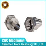 CNC inoxidável Machining Turned Turning Parte de Steel para Connectors
